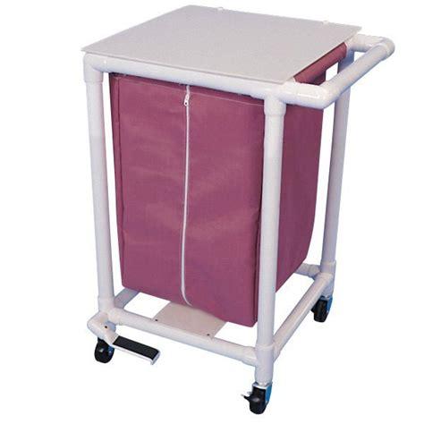 Laundry Room Carts - optional zipper for pvc linen hamper bags