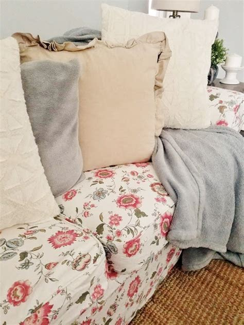 cottage style sofa slipcovers the quaint sanctuary first look cottage style floral