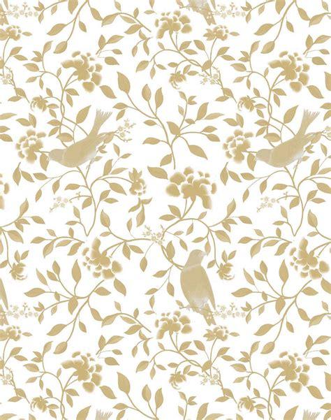 Best Wps220 White N Green Dot Flower Wallpaper Dinding Walpaper white and gold wallpaper