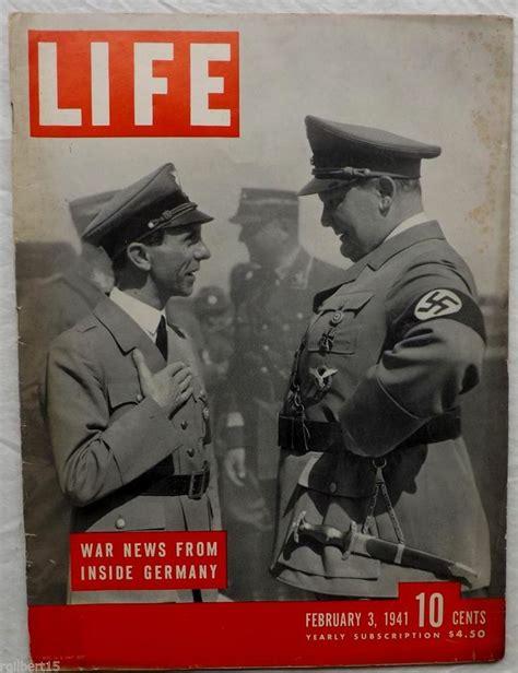 Whos News Lifestyle Magazine 5 by War News Inside Germany Germans Goering Goebbels 1941