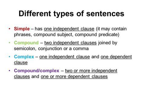 the simple secrets of sentence variety writing skills clauses and sentence types ppt video
