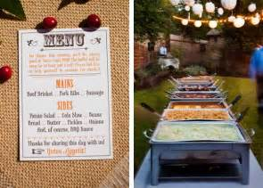 backyard bbq menu 6 simple tips for brides to plan your diy backyard wedding