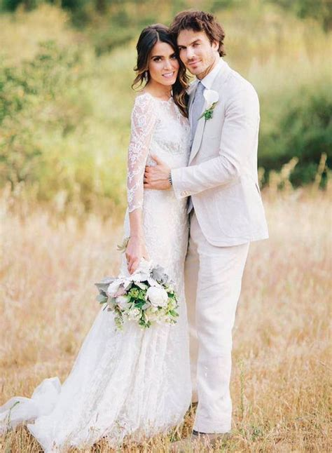 Wedding Zeitschrift by Ian Somerhalder In Magazine May 2015 Wedding Bells