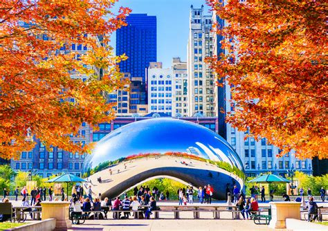 chicago colors chicago fall colors fall colors in chicago s millennium