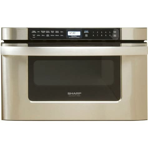 sharp 30 micro drawer sharp 24 quot 1000w insight pro stainless steel microwave