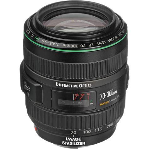 Lens Ef 70 300mm F 4 5 6 L Is Usm canon ef 70 300mm f 4 5 5 6 do is usm lens 9321a002 b h photo