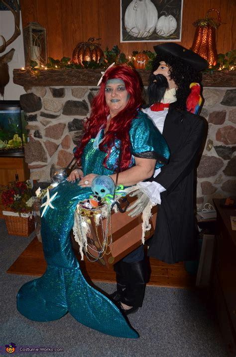 mermaid pirate carry  illusion costume diy costumes