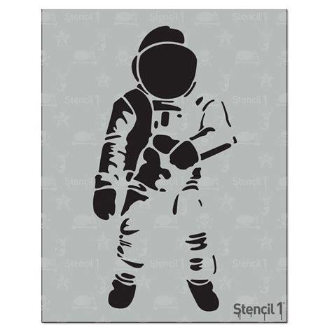 astronaut art stencil pics about stencil1 astronaut stencil s1 01 37 the home depot