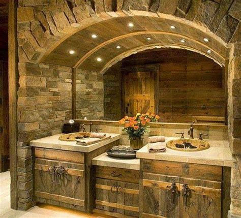 rustic master bathroom rustic master bath my house pinterest