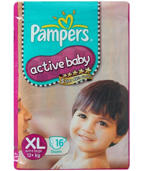 large diapers pers active baby large 16 pieces price buy pers active baby
