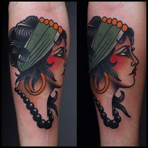 gypsy woman tattoo best 25 traditional tattoos ideas on