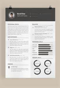 behance resume template free resume template on behance