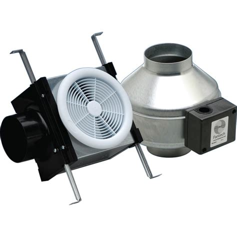 in line bathroom exhaust fan fantech exhaust fan kit 4 quot regular kit farmtek
