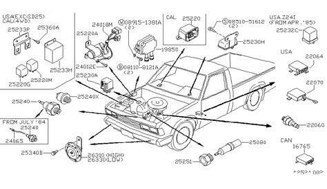 1985 nissan 720 wiring diagram engine diagram and wiring