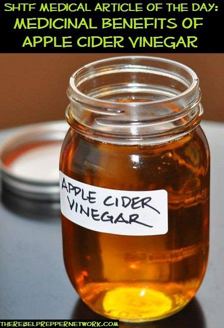 benefits of drinking apple cider vinegar before bed shtf medical article of the day medicinal benefits of