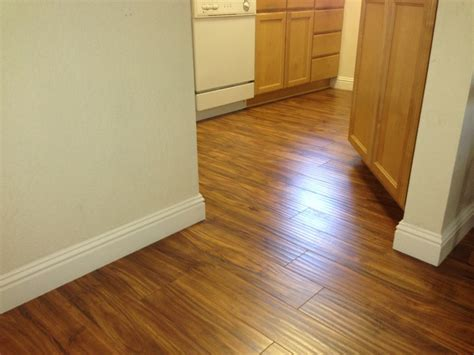 inspired shaw laminate flooring in kitchen traditional