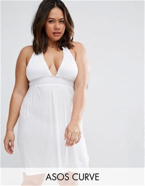 Asos Curve Swim Dress plus size swimwear plus size swimwear asos