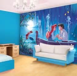 little mermaid bedroom decor ariel the little mermaid disney character giant wall mural