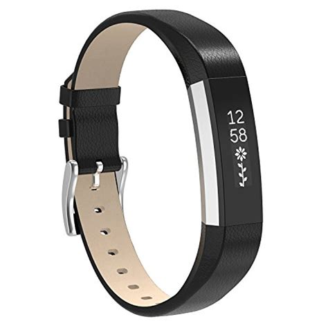 fitbit alta hr and alta bands henoda black classic genuine import it all