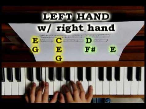 tutorial piano eminem mockingbird eminem piano tutorial how to play