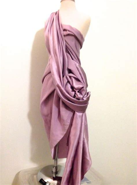 how to drape fabric satin fabric draping draping inspiration pinterest