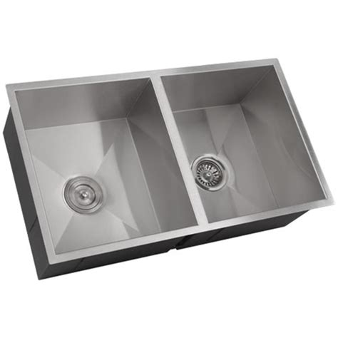 fs6501 10 undermount kitchen sink brushed nickel faucet combo