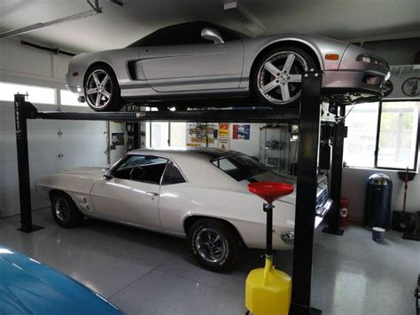 Automobile Lifts For Garage by Best Car Lift For Garage The Better Garages