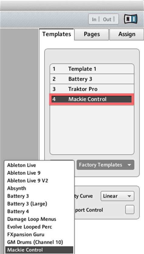 How To Use Maschine Controller In Mackie Control Mode With Ableton Live 8 Native Instruments Instruments Controller Editor Templates