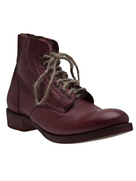 cherevichkiotvichki stacked heel ankle boot in for
