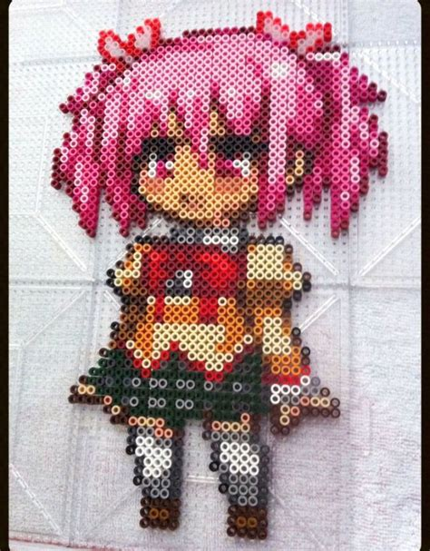 anime perler bead patterns 176 best images about anime perler bead patterns on