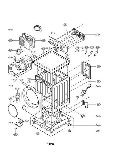 lg washing machine parts schematics free wiring