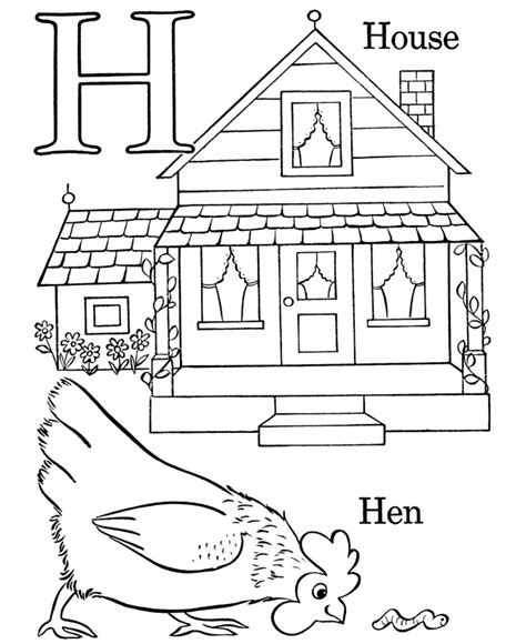 letter h coloring pages preschool alphabet coloring pages letter h preschool ideas