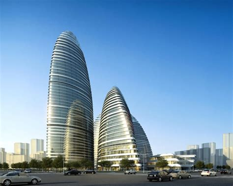 world of architecture wangjing soho office and retail