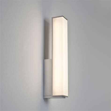 bathroom wall fixtures astro 7161 karla polished chrome led bathroom wall light
