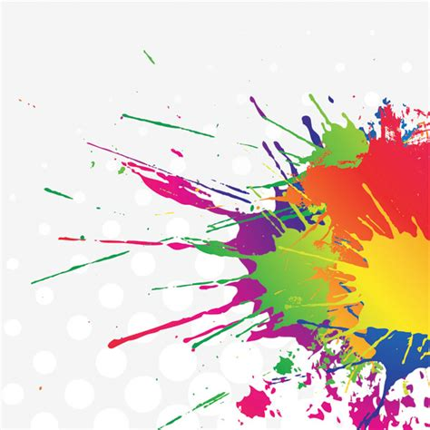 color ink vector free vector 4vector