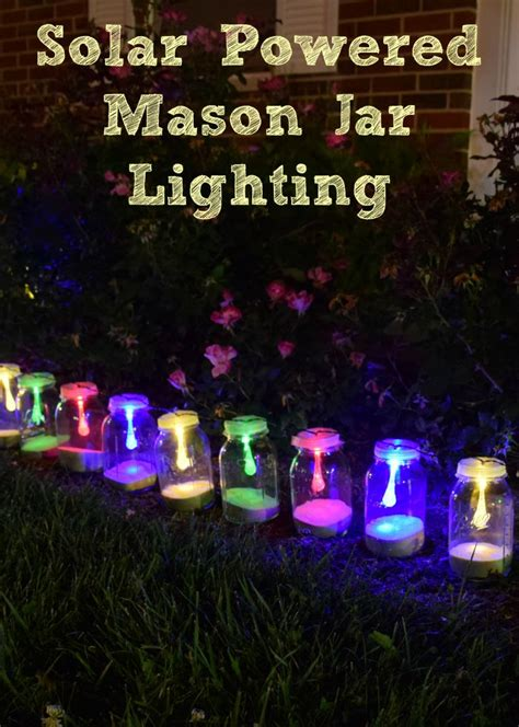 how to make solar powered jar lights jar lights for fall a proverbs 31