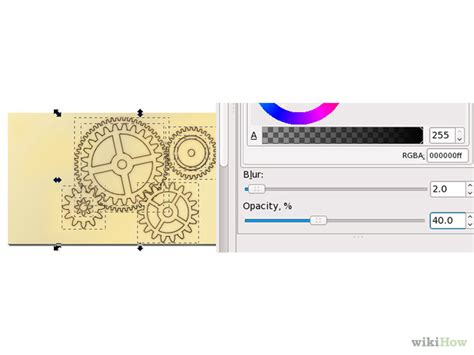 inkscape tutorial gear 3 formas de dibujar engranajes con inkscape wikihow
