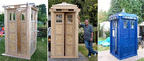Tardis Garden Shed by Wiltshire About Wiltshire Wiltshire Tardis Goes