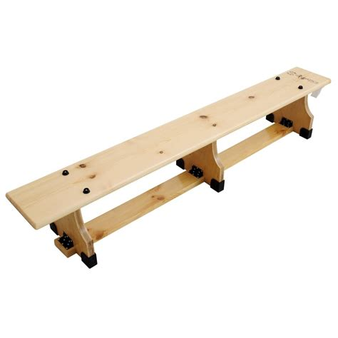 bench one shot sure shot balance benches 1 8m 6ft urban sports