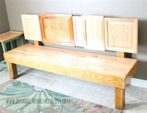 door bench plans rip off your cabinet doors for these brilliant upcycling