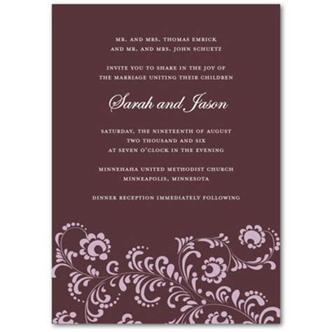 Unique Contemporary Wedding Invitations by Wedding Collection August 2010