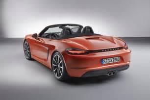Porsche Ik New Porsche 718 Boxster Unveiled Speed Carz