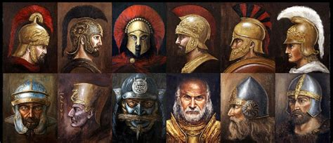a head for war top 10 ancient and medieval battle helmets