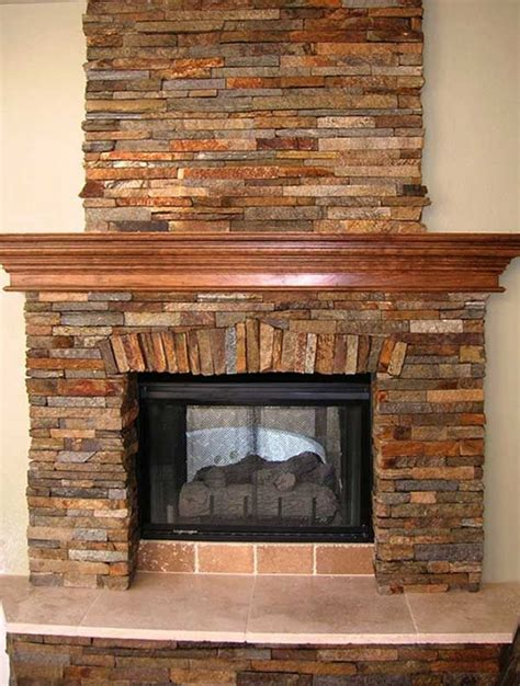 Stone Fireplace With Stone Hearth Dream Build Fireplace Without Hearth