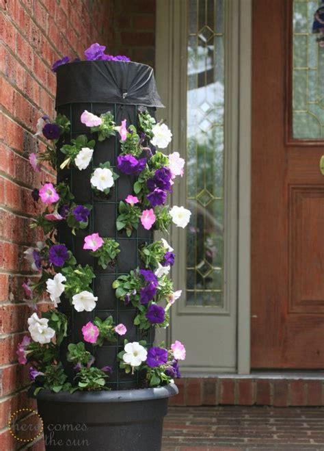 how to make a flower tower honeybear lane the 25 best flower tower ideas on pinterest pot