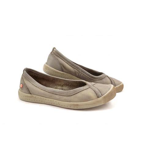 flat shoes ballerina style softinos ilma slip on ballerina style shoe in taupe