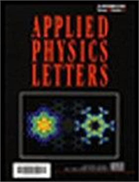 appl phys lett applied physics letters evisa s journals database