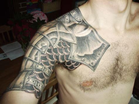tattoo shoulder armor medieval armor shoulder tattoo for men