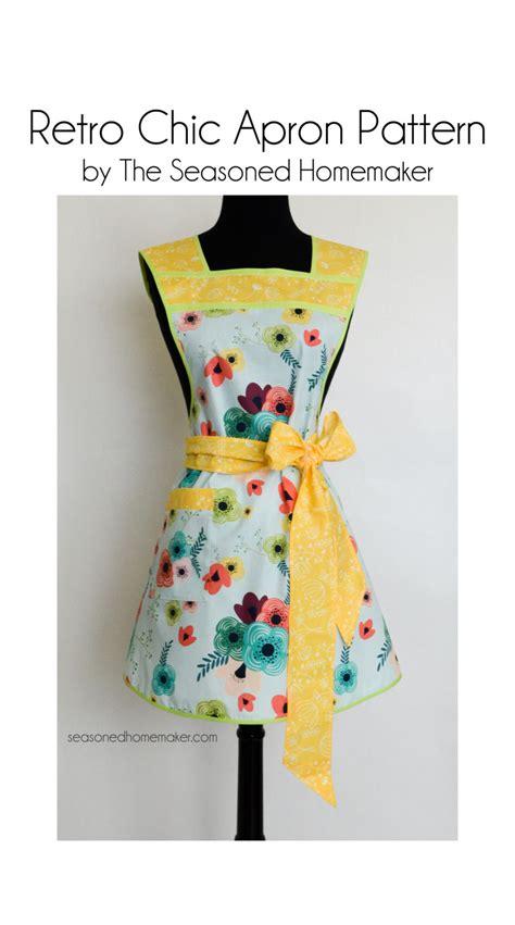 pattern for workshop apron retro chic apron pattern