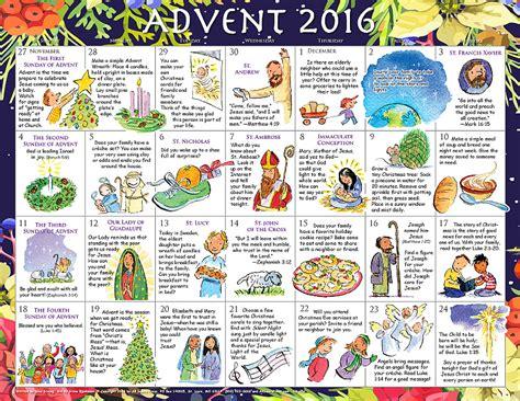 Calendar For Children 2016 Advent Calendar For Children